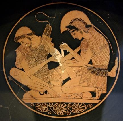 Esempio greco di arte artigianale di vaso