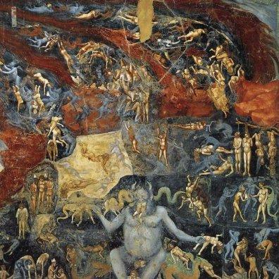 Dettaglio inferno Cappella Scrovegni