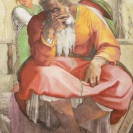 Profeta Geremia di Michelangelo