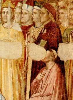 Presunto ritratto di Dante eseguito da Giotto