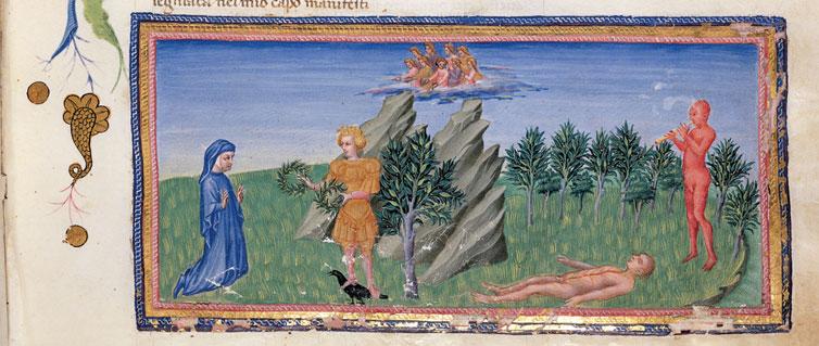 Giovanni Di Paolo frontespizio dante