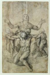 Pietà privata di Michelangelo