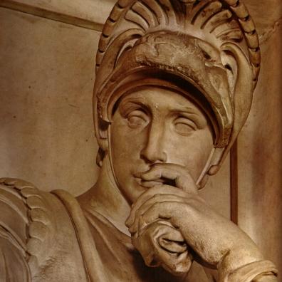 Il Pensieroso di Michelangelo