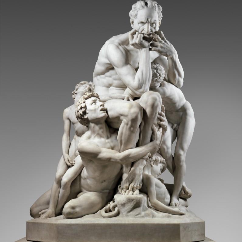Carpeaux Conte Ugolino e figli