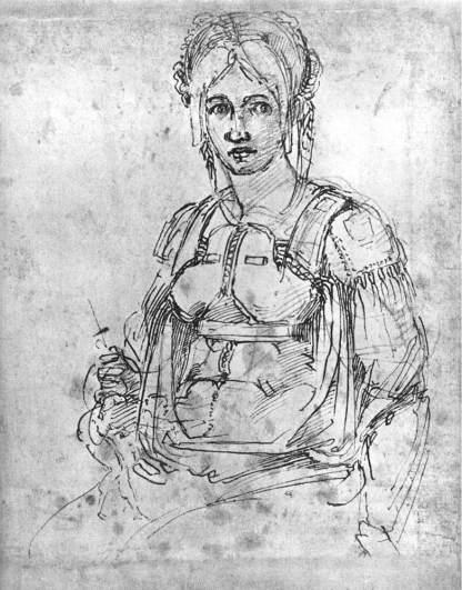 Ritratto Vittoria Colonna di Michelangelo