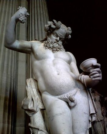 Sileno ubriaco, opera romana del II sec. d.C. (museo del Louvre)