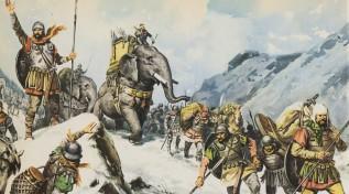Annibale valica le Alpi