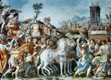 Il trionfo di Furio Camillo (Francesco Salviati), Palazzo Vecchio, Firenze