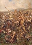 Lo scontro tra le armate romane e Germani nella rappresentazione pittorica di Otto Albert Koch