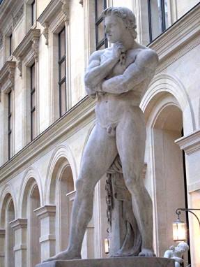 Statua di Spartaco, opera di Denis Foyatier, (1830), Museo del Louvre