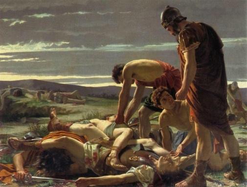 Alcide Segoni, Il ritrovamento del corpo di Catilina