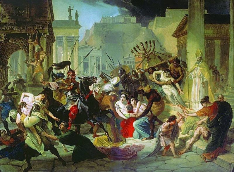 genseric_sacking_rome_455_the_sack_of_rome2c_karl_briullov2c_1833-1836