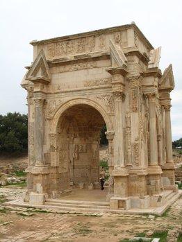 Arco di Trionfo di Settimo Severo a Leptis Magna