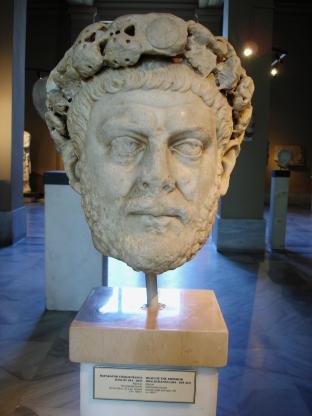 Ritratto di Diocleziano presso il museo archeologico di Istanbul