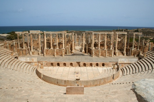 Teatro di Leptis Magna