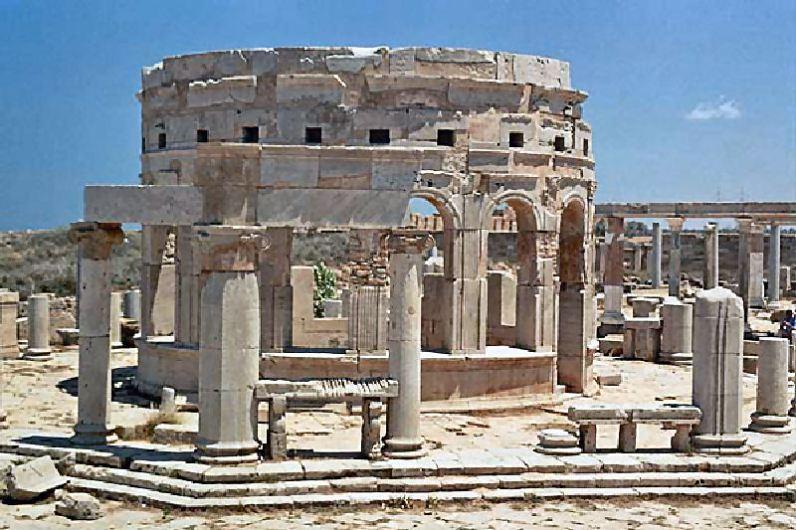 Mercato di Leptis Magna
