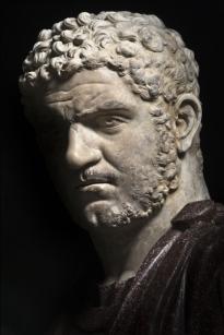 Il famoso busto di Caracalla