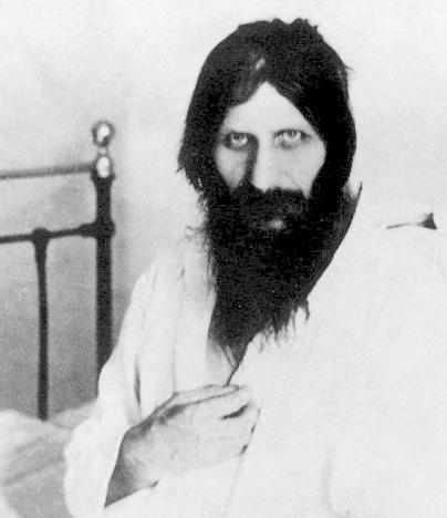 Rasputin all'ospedale dopo il tentato assassinio.