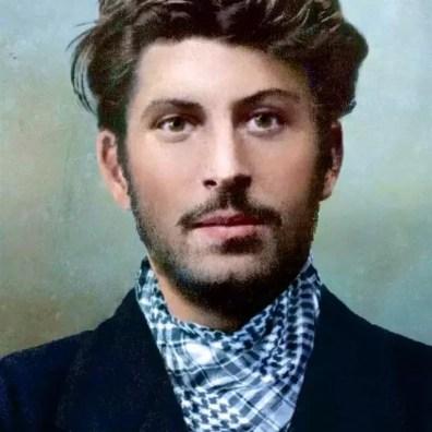 Stalin a ventiquattro anni nel 1902