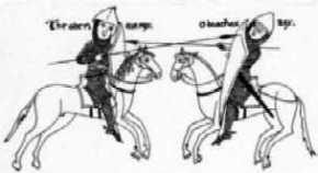 Il 30 settembre 489 Teodorico sconfigge Odoacre (Antica pergamena)